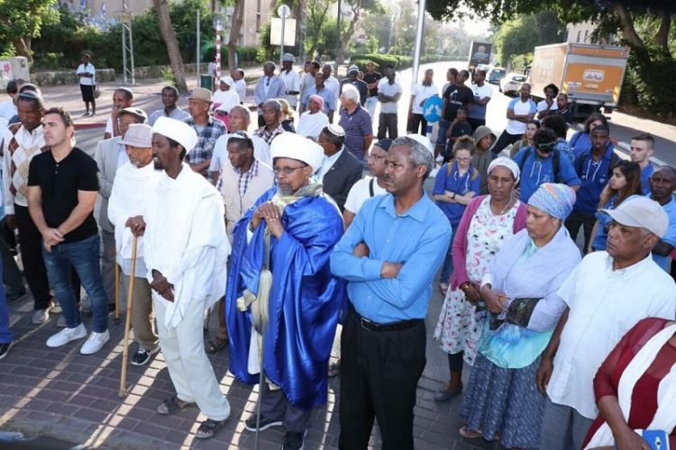 הטקס לזכר יהודי אתיופיה שנספו בדרכם מסודן ארצה