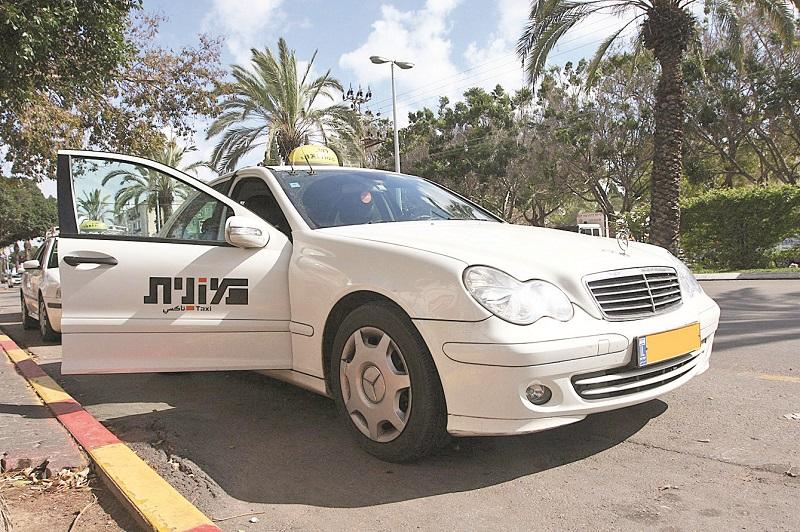 מונית (צילום אילוסטרציה: עזרא לוי)