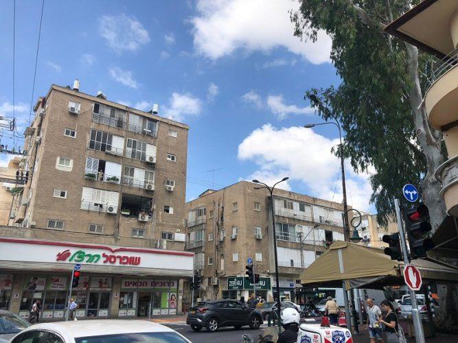 הצומת המרומזר החדש ברחוב ויצמן-הרצל