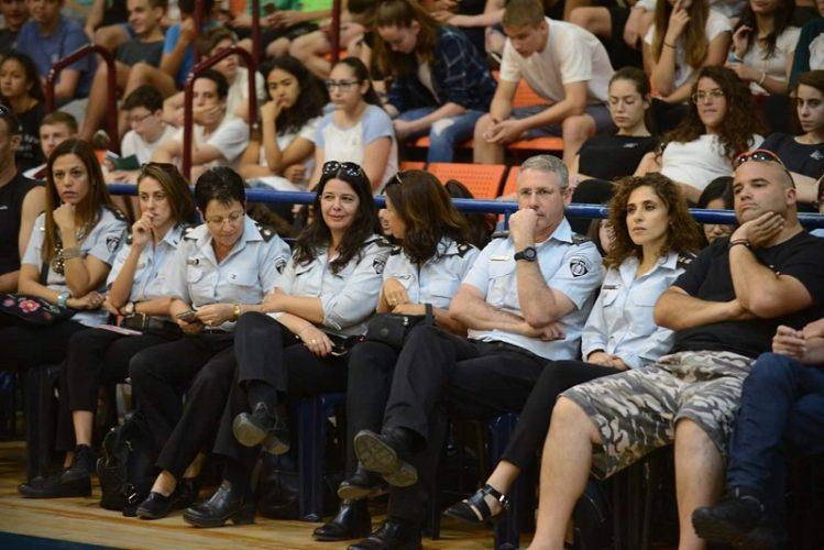 נציגי שירות בתי הסוהר בטורניר הכדורסל לזכרה של טופז אבן-חן קליין