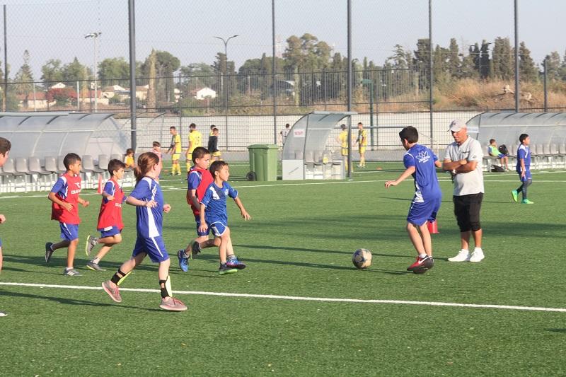 הפנינג סיום עונת הכדורגל של בית הספר העירוני ברחובות