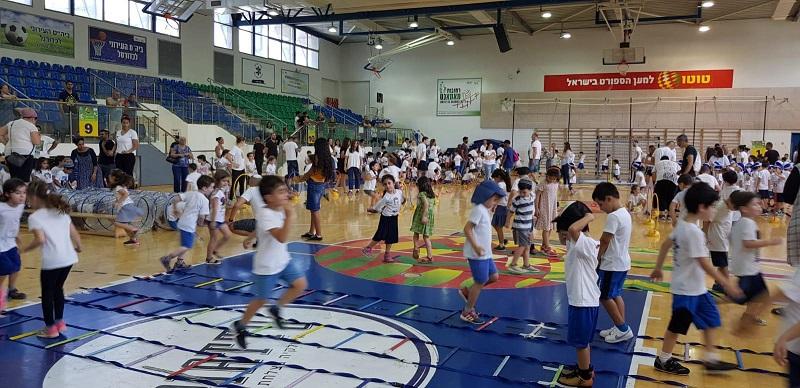 אולימפיאדת רחובות לילדי הגנים