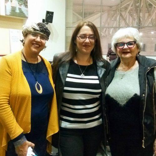 לידיה קורדירו, מרה קנבל ואביבה חלבי