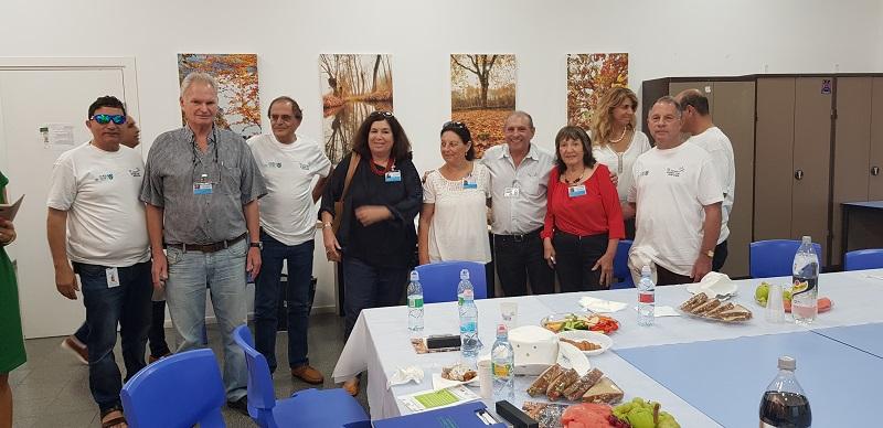 ועדת השיפוט של קריה יפה בישראל יפה בביקורם ברחובות