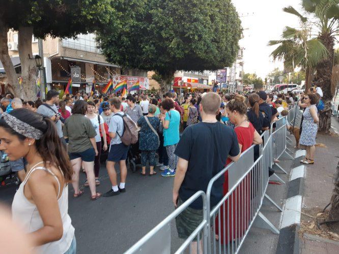 מצעד הגאווה ברחובות