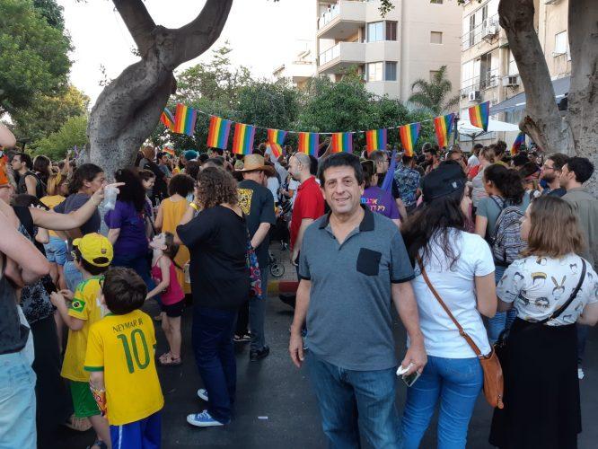 חבר המועצה אמיר ירון הגיע לתמוך