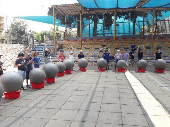פעילות בבית הספר רמת אלון (צילום: באדיבות עמוד הפייסבוק של הנהגת הורי רמת אלון)