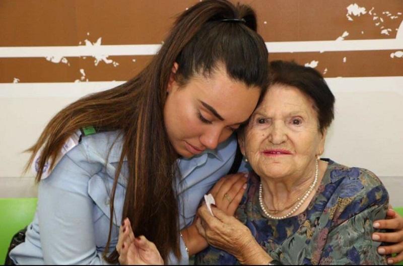 מיכל בת ה-98, המבוגרת מבין ניצולי השואה בעמך רחובות