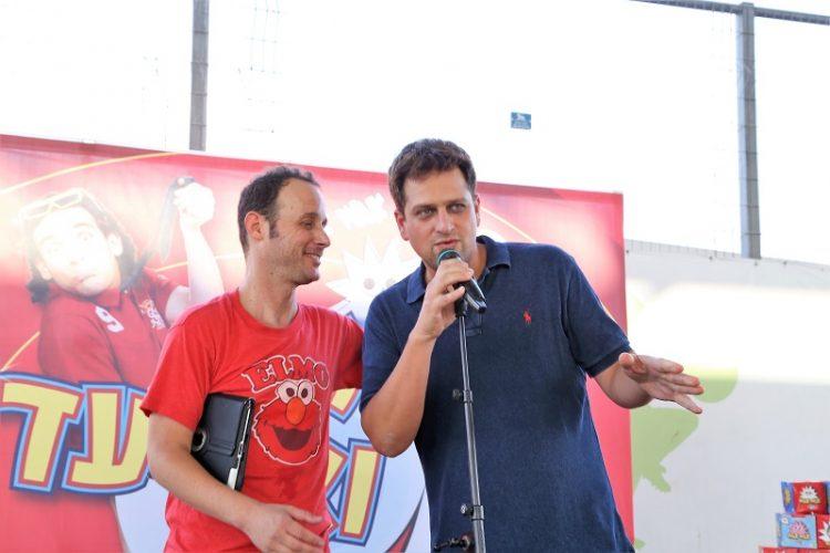 יניב מרקוביץ ואיתי שגב באירועי קיץ 2017