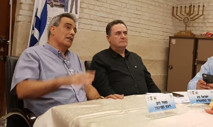 ישראל כץ ומאיר דהן