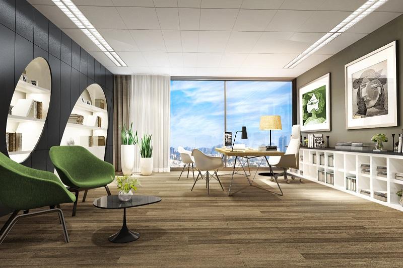 הדמיית משרדי פרי פלייס רחובות (הדמיה: סטודיו פיבוט)