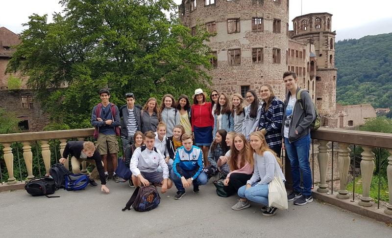 ביקור תלמידי קציר בהיידלברג