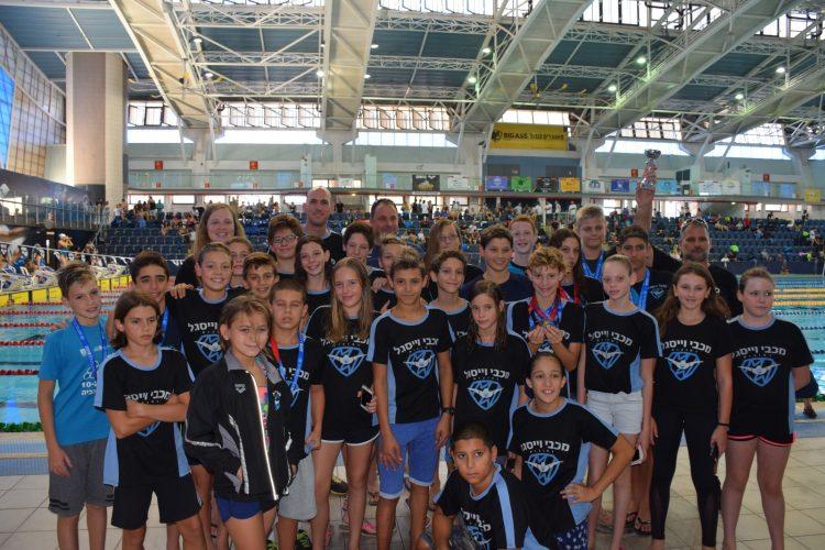 שחייני וייסגל באליפות ישראל עד גיל 14