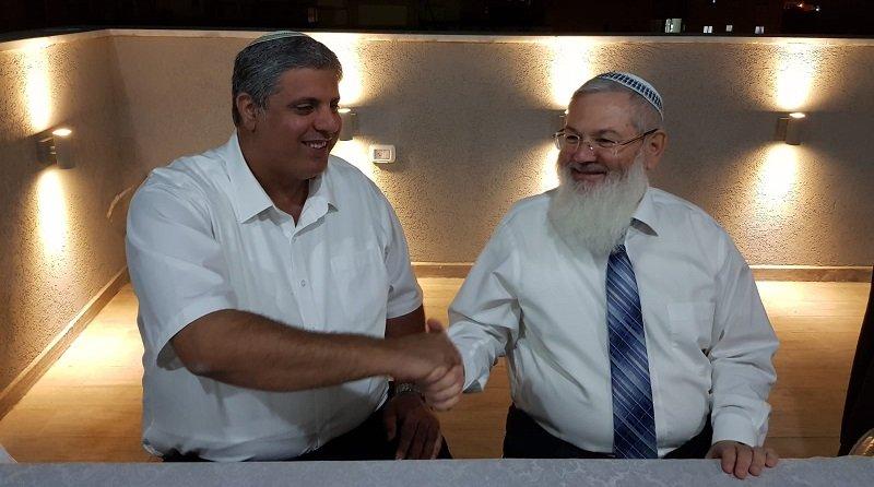 אמיתי כהן והרב אלי בן דהן