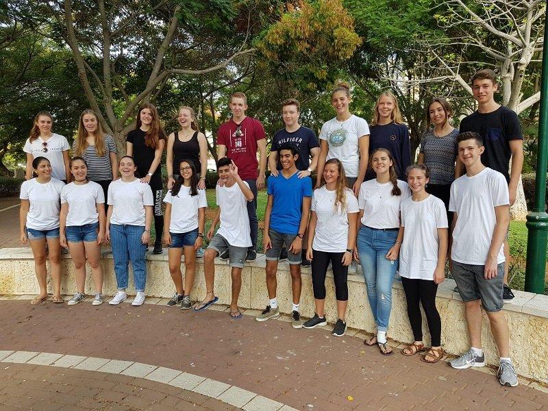 תלמידים מרחובות עם תלמידים מהיידלברג