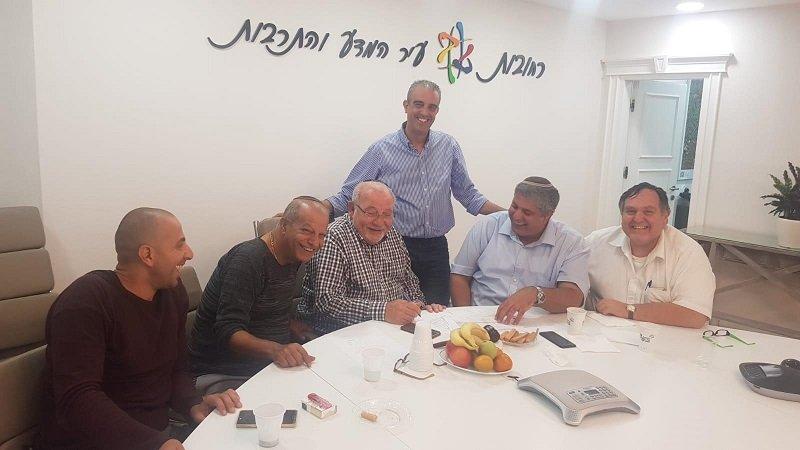 סיעת הבית היהודי רגע לאחר ההצטרפות לקואליציה