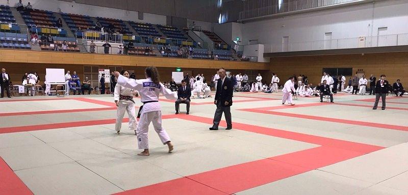 ספורטאי מועדון הג'ודו העירוני מיטב רחובות בתחרות בינלאומית ביפן