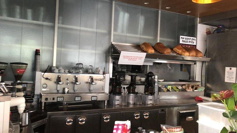 מכונות הקפה בארומה מושבתות בשל הפסקת החשמל