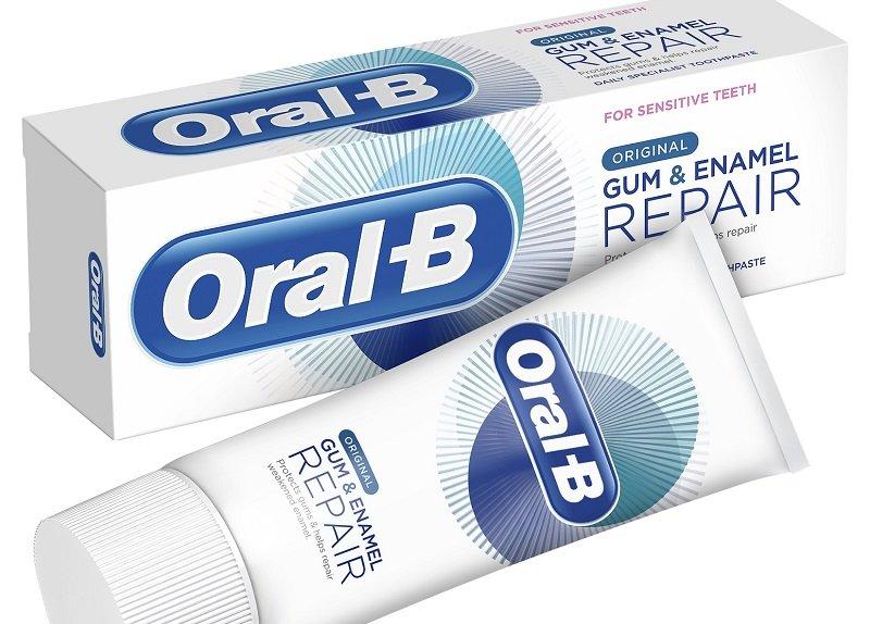 משחת שיניים חדשה של ORAL B (צילום: אבי לוי)