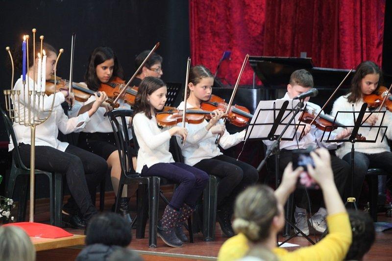 קונצרט חנוכה המסורתי בקונסרבטוריון העירוני