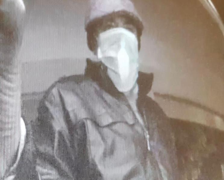 מצלמת כספומט שקלטה את אחד החשודים