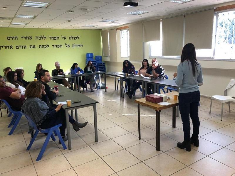 משתתפי הקורס ״לבחור מחדש בחינוך״ בחוויות קרית משה