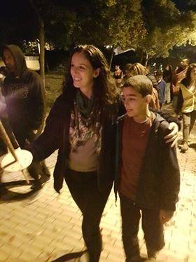 מוריה אשכנזי במצעד הלפידים של שבט יאיר