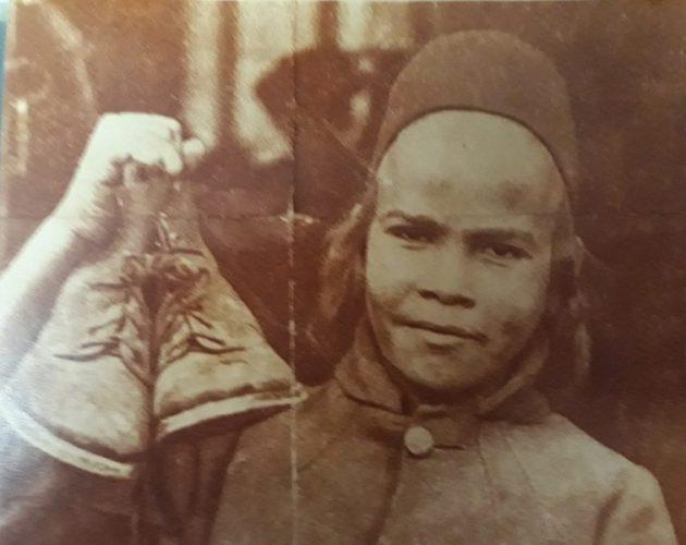 זכריה רצבי, אביה של רותי, כשעלה מתימן