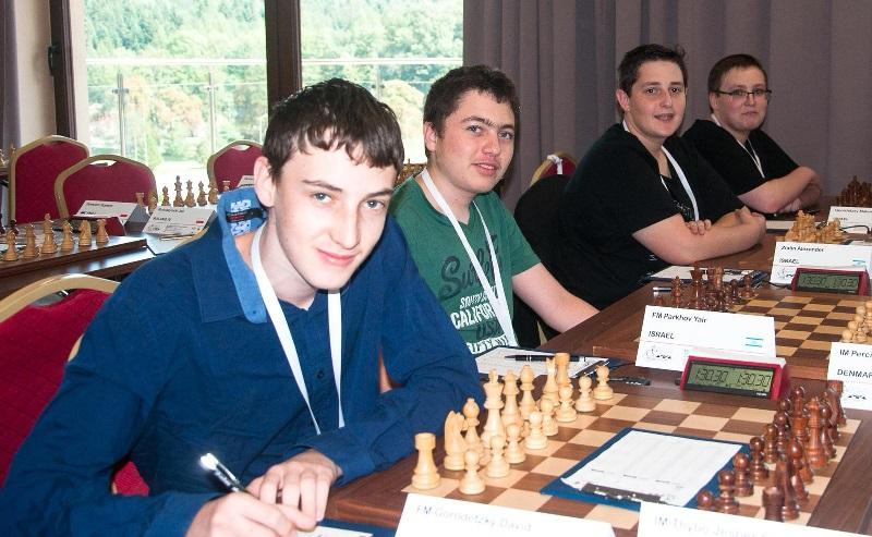 נבחרת השחמט העירונית עד גיל 18