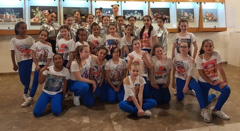 הבנות שייצגו את רחובות בפסטיבל ההיפ-הופ הארצי