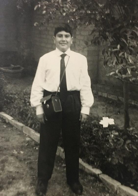 אמיל חי בצעירותו בעיראק (צילום: אלבום משפחתי)