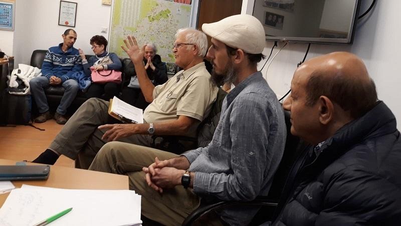 פגישת תושבי רחוב יעבץ עם נציגי העירייה