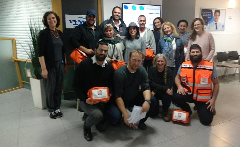 תכנית ההתנדבות של מכבי 'נפגשים' עם אנשי איחוד הצלה