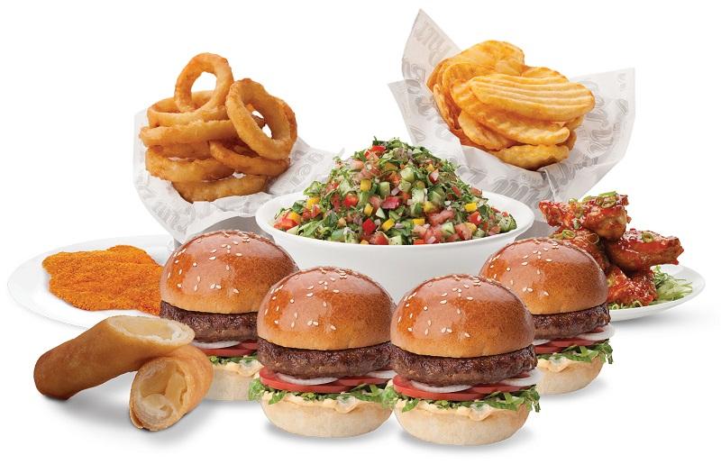 מארז משפחתי בבורגרים (צילום: חיים יוסף)