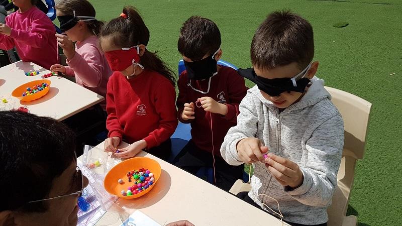 תלמידי ניצני המדע השתתפו בפעילות שיא של קהילה נגישה