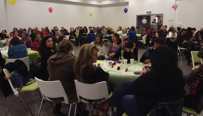 ערב אחדות נשים של הפורום לקידום מעמד האישה ברחובות