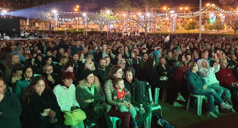 אלפי צופים בערב הנעילה לפסטיבל רוקדים אביב