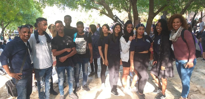 """נוער חוויות בכנס המד""""צים (צילום: באדיבות רשת חוויות)"""