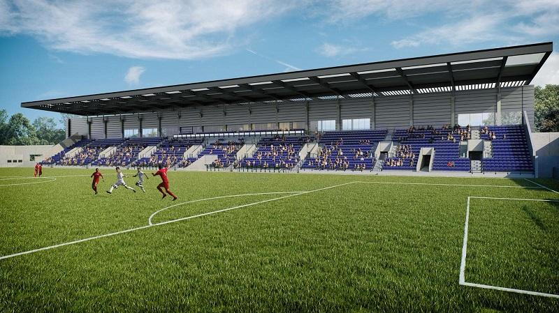 הדמיית האצטדיון העירוני ברחובות (הדמיה: גולדשטיין, ארדיטי בן נעים אדריכלים)