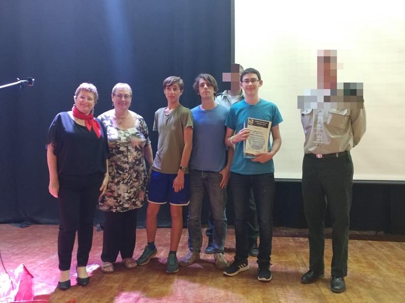 נימרוד פפרני, תומר שרמן ואסיף בן שדה, הזוכים בתחרות הסייבר הגיאוגרפי