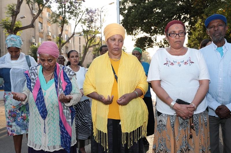 הטקס לזכר יהודי אתיופיה שנספו בדרכם מסודן לישראל