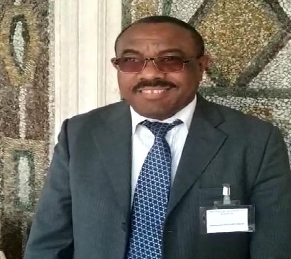 ראש ממשלת אתיופיה לשעבר, הילמרים דסלין