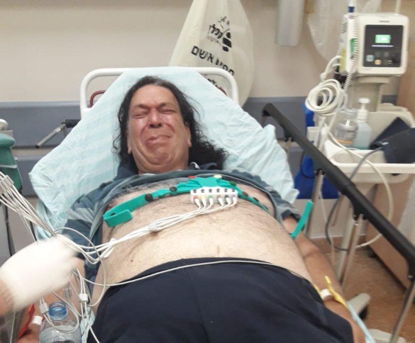 עמי פינשטיין בבית החולים קפלן