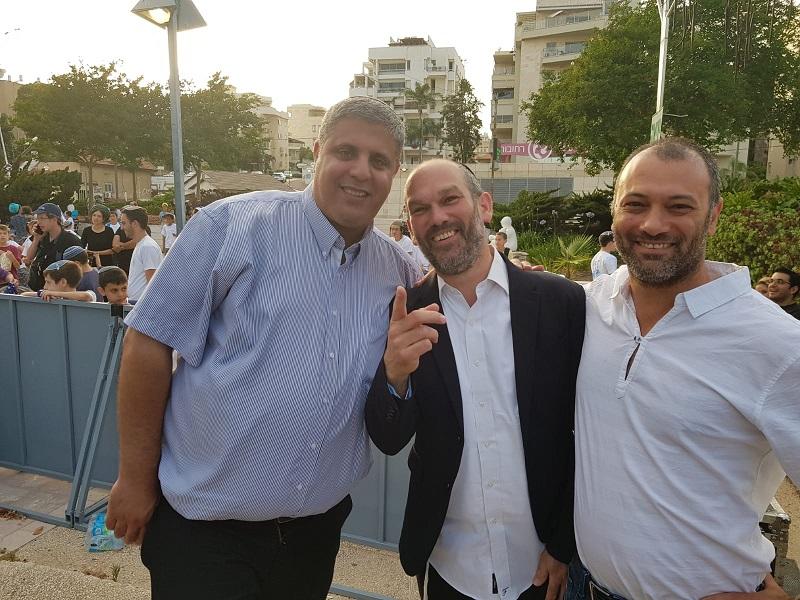 אסף אלבר, יונתן רזאל ואמיתי כהן