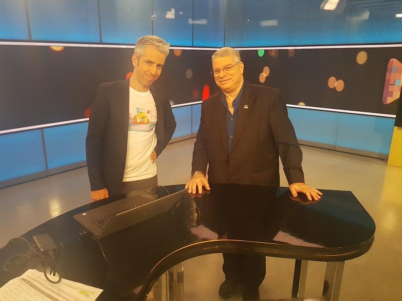 """ד""""ר הראל מנשרי ודרור גלוברמן (צילום: אנשים ומחשבים)"""