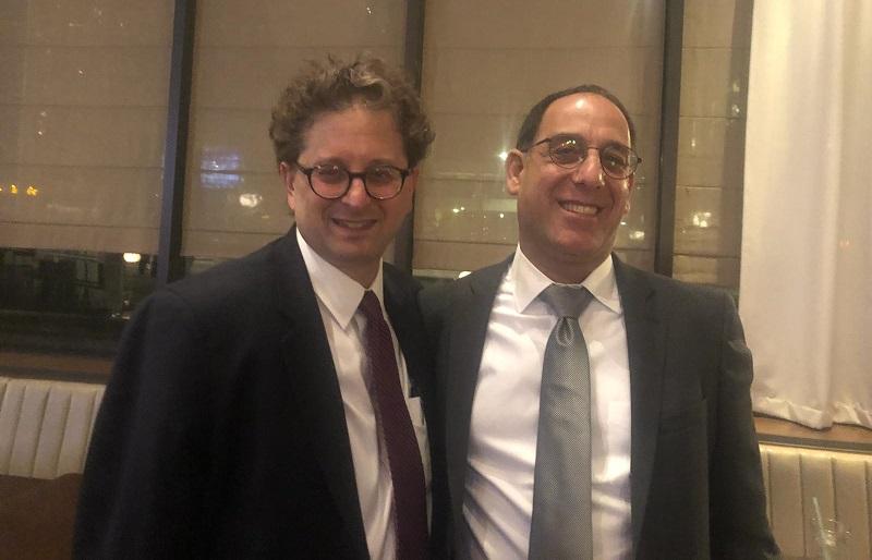 זהר בלום וסטיב הניג, מנכ״ל ארגון הגג של הקהילות היהודיות במינסוטה