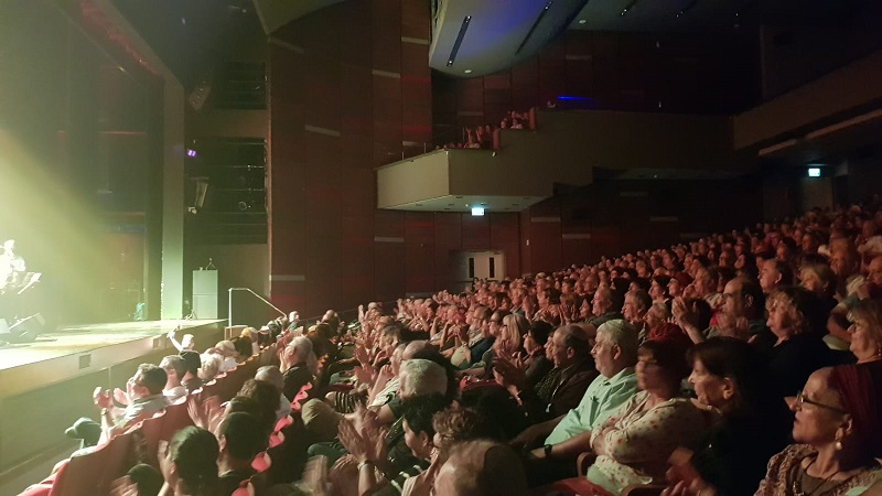 מאות צופים בהיכל התרבות