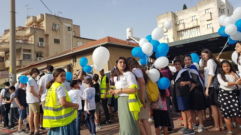 חגיגות ריקודגלים ליום ירושלים ברחובות