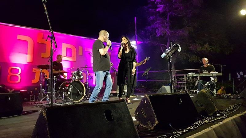 אדם ודפנה דקל במופעי שרים לך רחובות בשנה שעברה