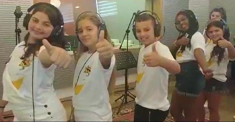 """מתוך הקליפ של להקת מתנ""""ס חוויות קרית משה לקראת קייטנת הקיץ"""
